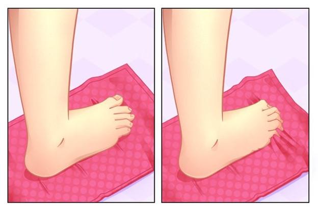 Tập thể dục với đôi chân của bạn