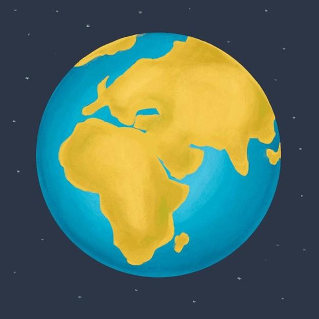 Tất cả nước trên Trái đất sẽ tích tụ thành 2 đại dương và một lục địa mới sẽ hình thành