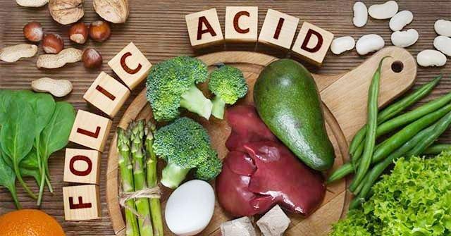Thực phẩm giàu axit folic