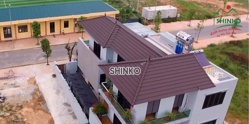 Thương hiệu ngói màu Shinko