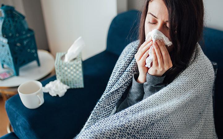Thường xuyên bị cảm lạnh và cảm cúm