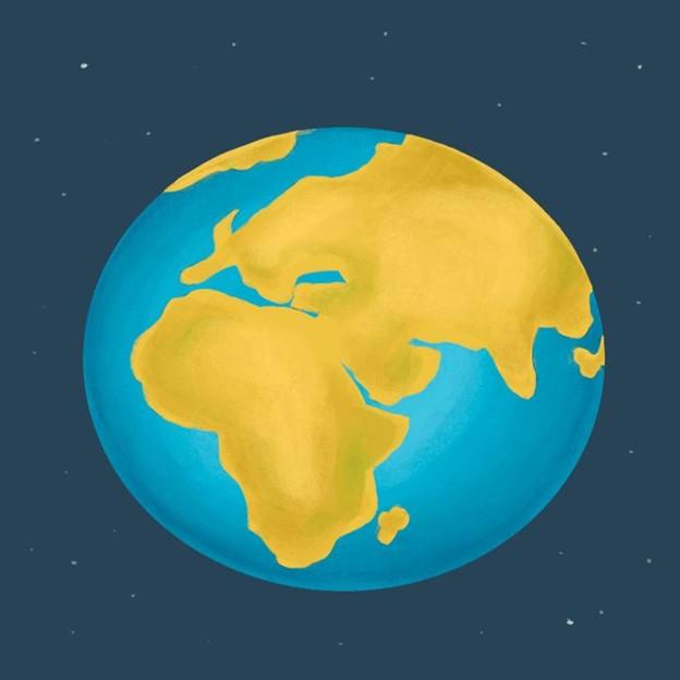 Trái đất sẽ biến đổi từ một geoid thành một hình cầu