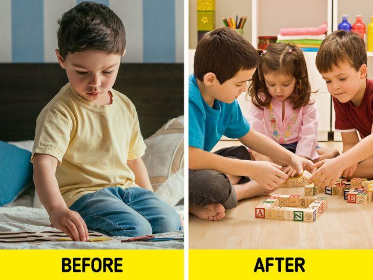 Trẻ sẽ hòa nhập xã hội tốt hơn