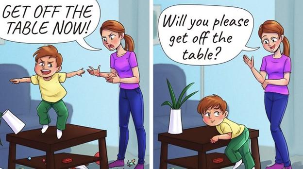 Trẻ sẽ nhận thức được về kỷ luật