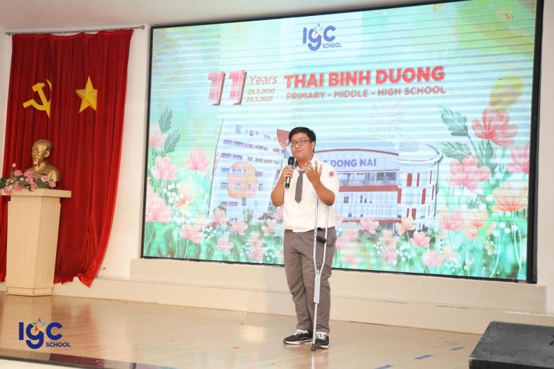 Trường THCS Thái Bình Dương
