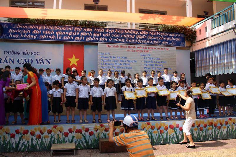 Trường tiểu học Trần Cao Vân Đà Nẵng