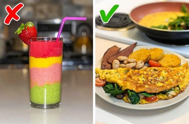 Bạn thay thế bữa ăn của bạn bằng một ly sinh tố