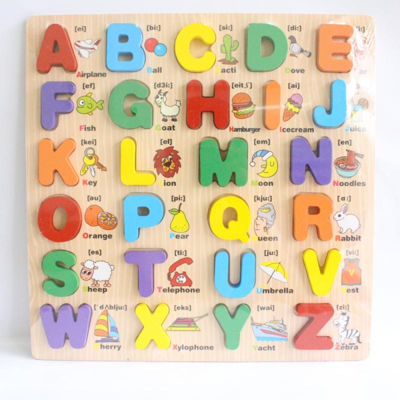 Bảng học chữ bằng gỗ