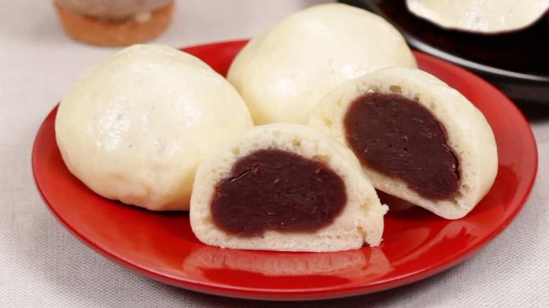 Bánh bao đậu đỏ