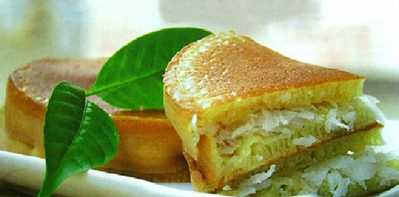 Bánh bò nhân dừa