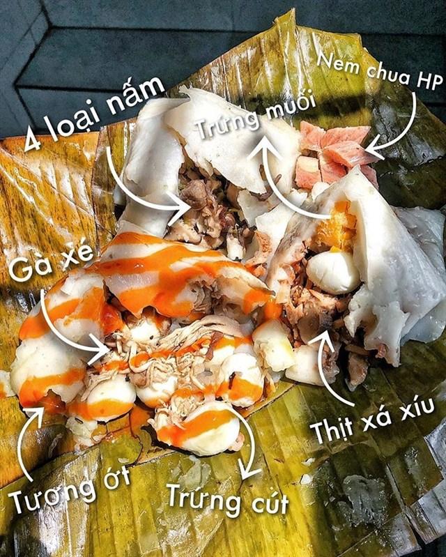 Bánh giò 7 trứng Bếp Nhà Tui