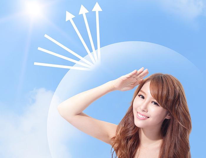 Bảo vệ làn da khỏi ánh nắng mặt trời