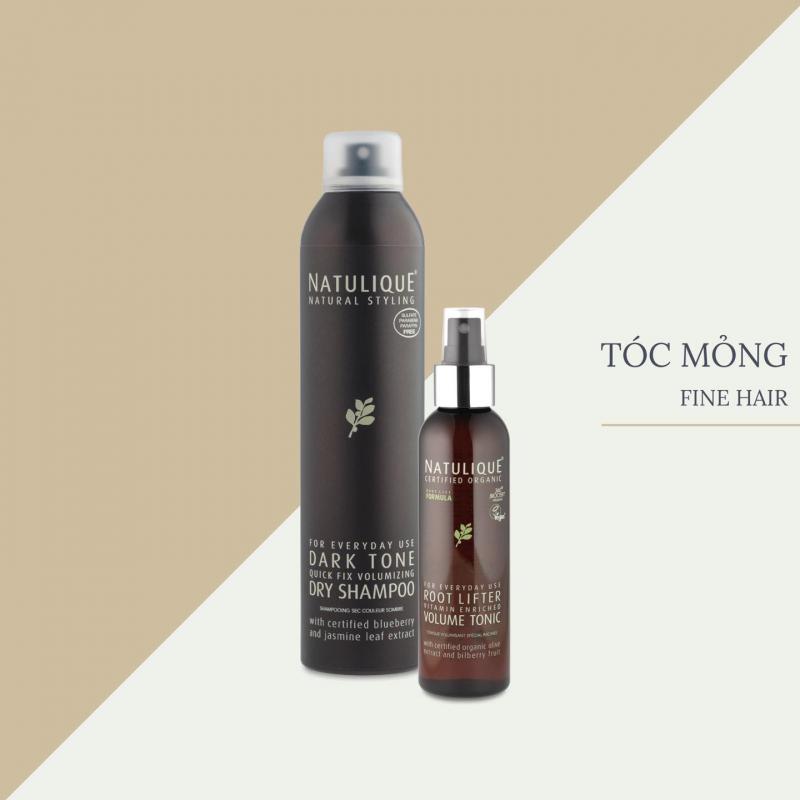 "Bộ ba chăm sóc tóc Natulique ""Volume"""