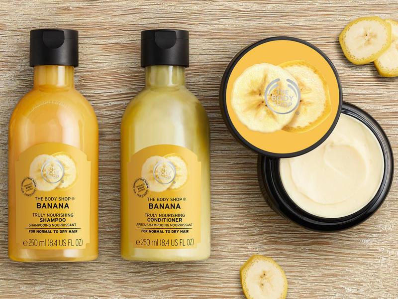 Bộ sản phẩm chăm sóc tóc của The Body Shop