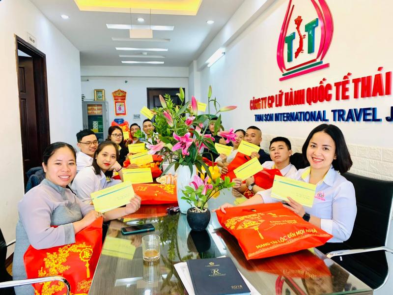 Công ty CP Lữ hành Quốc tế Thái Sơn