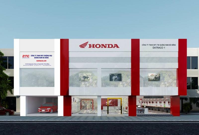 Cửa hàng HEAD Honda – Datraco 1