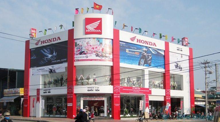 Cửa hàng đại lý Honda ủy quyền HEAD Quốc Tiến