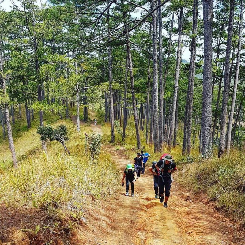Cung đường trekking Bidoup