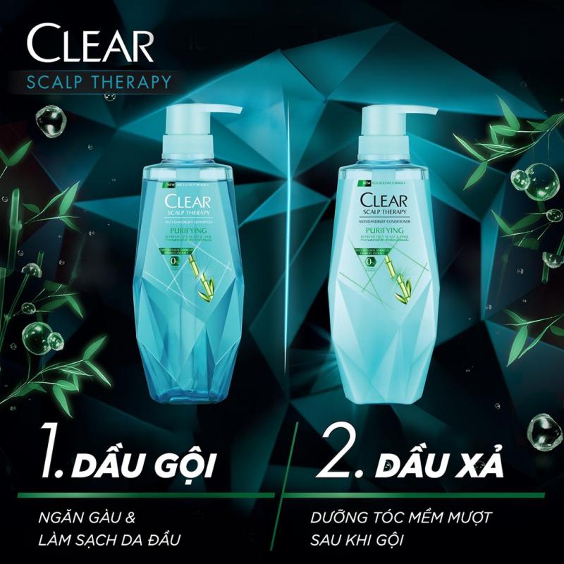 Dầu Gội Trị Gàu Clear Scalp Therapy Purifying