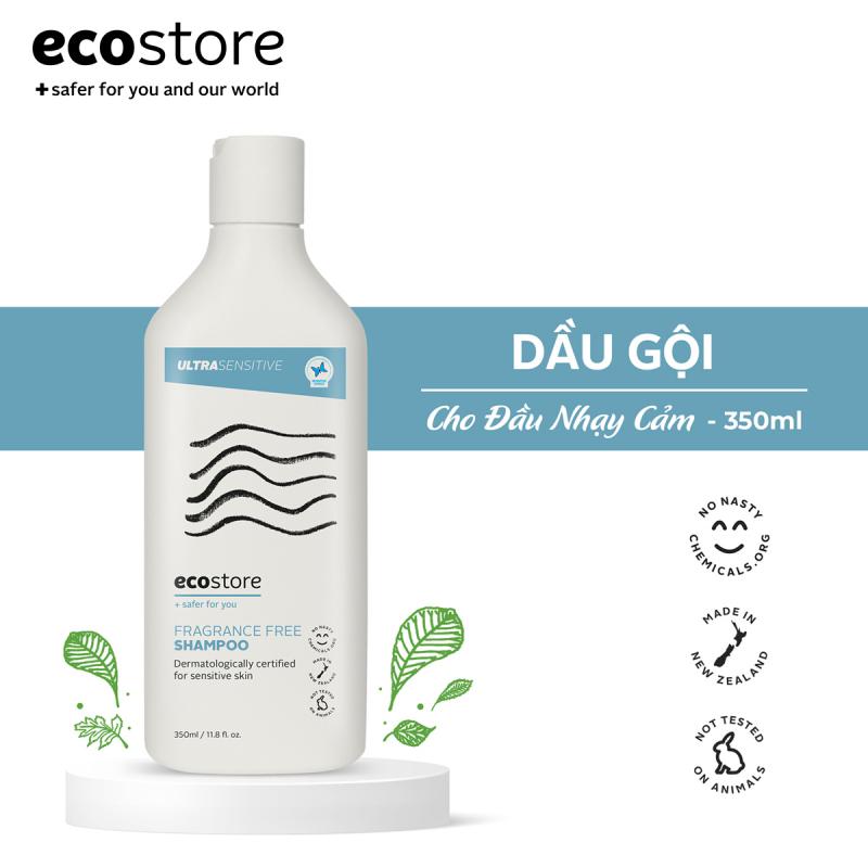 Dầu gội chăm sóc da đầu nhạy cảm Ecostore