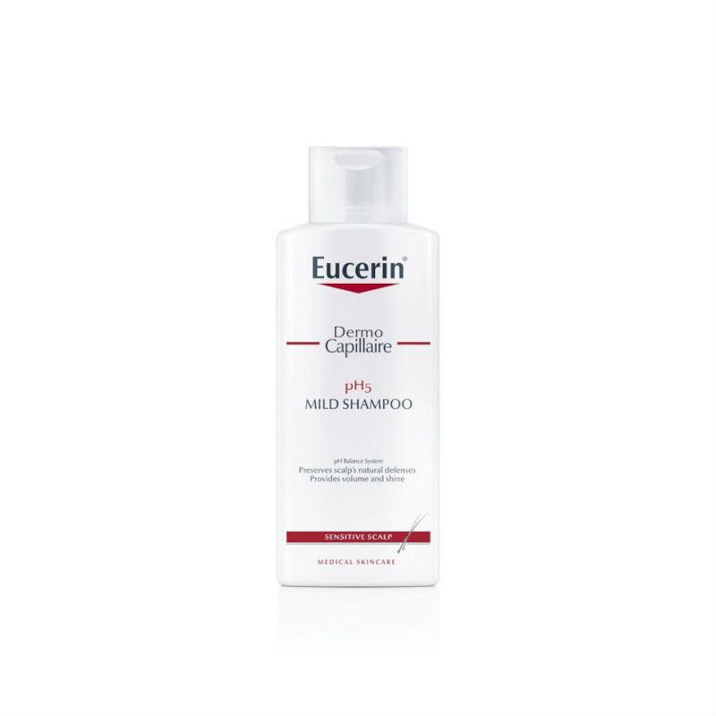 Dầu gội cho da đầu nhạy cảm Eucerin Demo Capillaire pH5 Mild