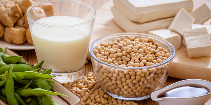 Đậu nành và các thực phẩm làm từ đậu nành