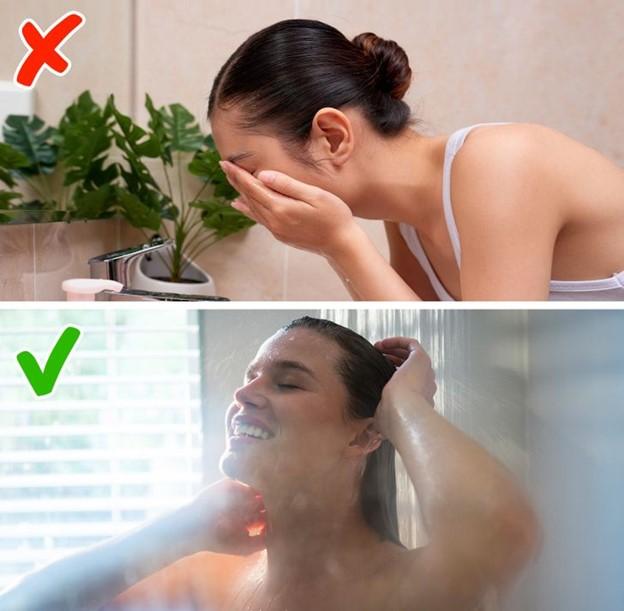 Đừng nên bắt đầu buổi sáng chỉ với vòi nước rửa mặt