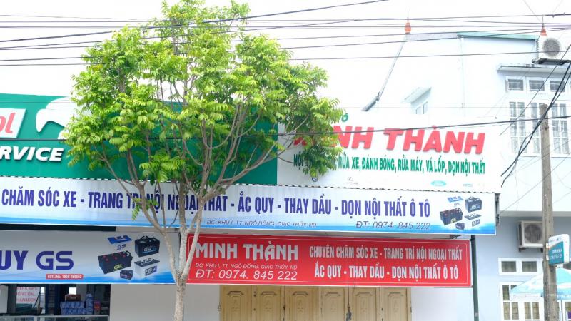 Garage ô tô Minh Thành