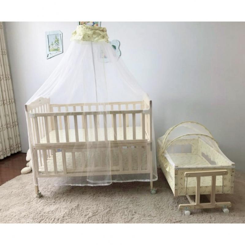 Giường cũi gỗ trẻ em Mamago