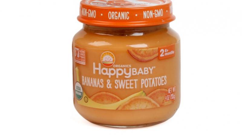 Hoa quả nghiền Happy Baby
