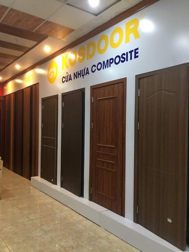 KOSDOOR - Cửa nhựa gỗ chống nước Composite