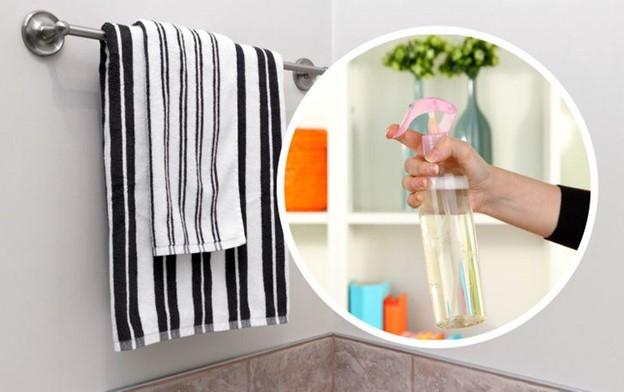 Kết hợp nước và nước xả vải