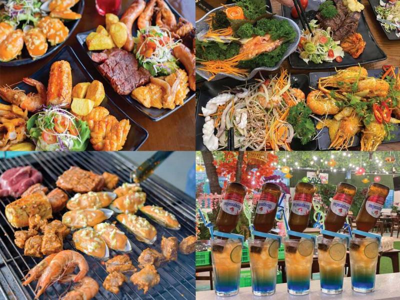 Khu vui chơi - Ẩm thực Sala Tây Ninh