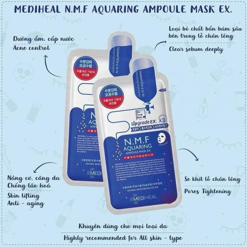 Mặt nạ Mediheal NMF Aquaring Ampoule Mask Ex