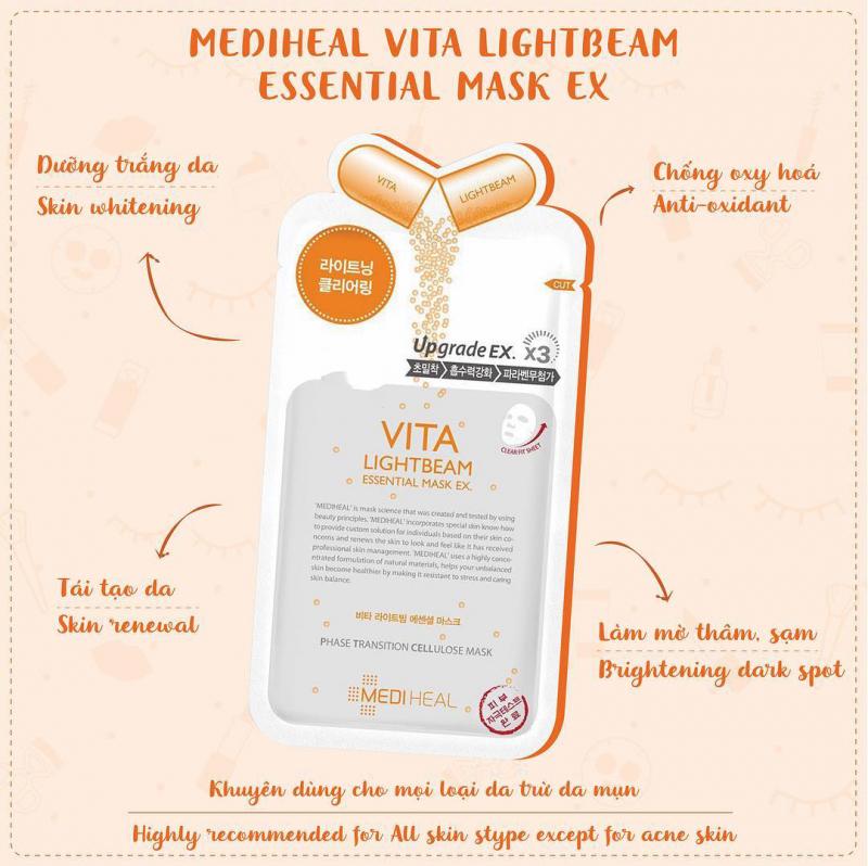 Mặt nạ Mediheal Vita Lightbeam