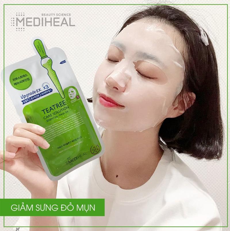 Mặt nạ Mediheal trị mụn Tea Tree Care Solution