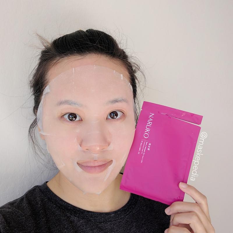 Mặt nạ Naruko Rose and Botanic HA Aqua Cubic Hydrating Mask EX