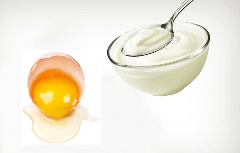 Mặt nạ mật ong, trứng gà, sữa chua