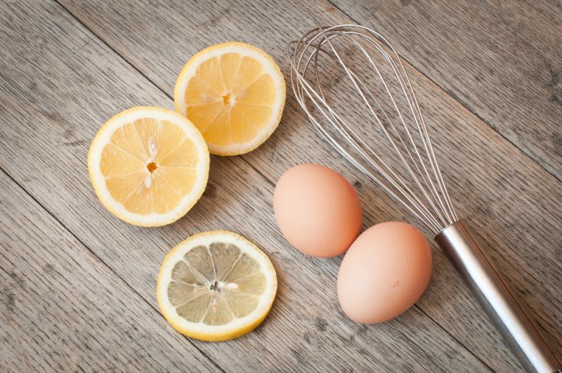 Mặt nạ trứng gà và chanh