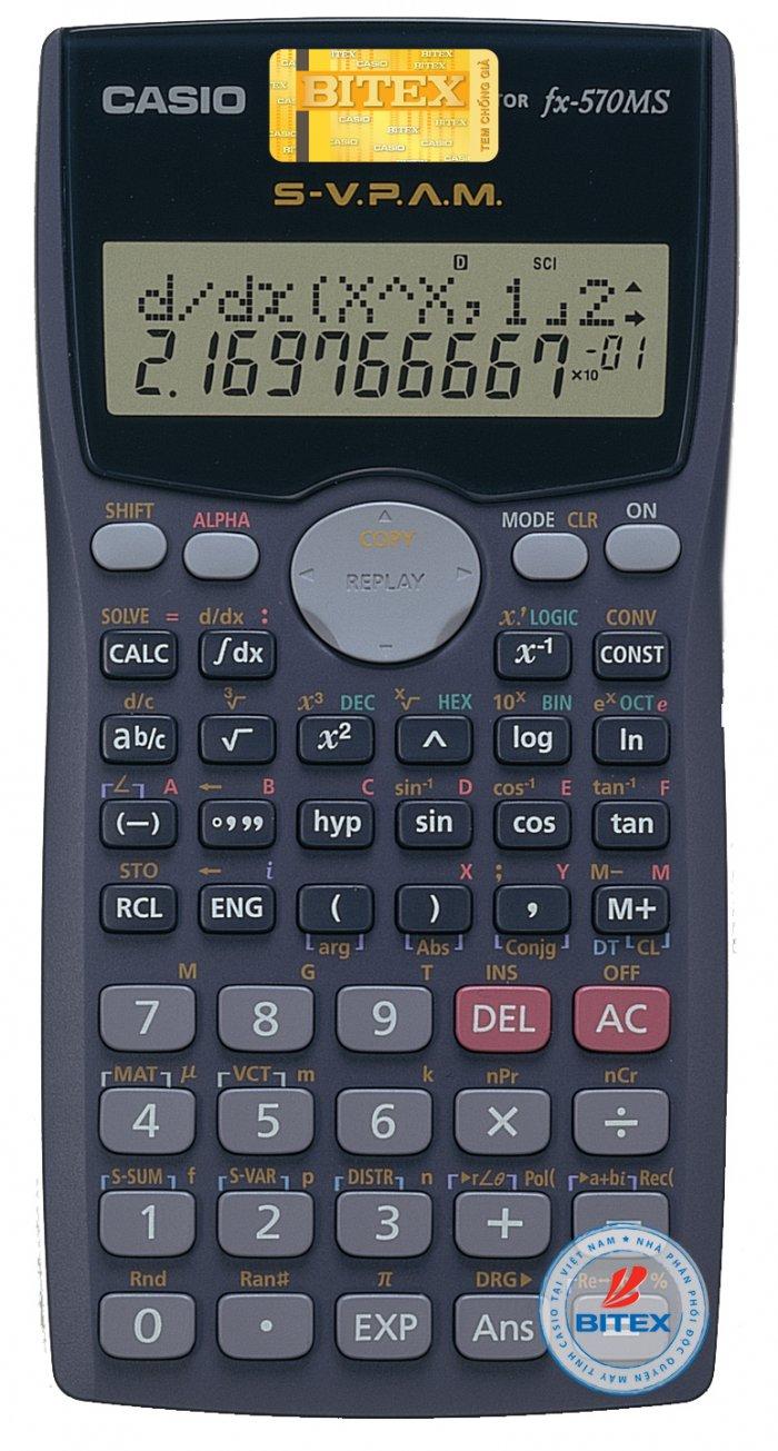 Máy tính Casio FX 570MS