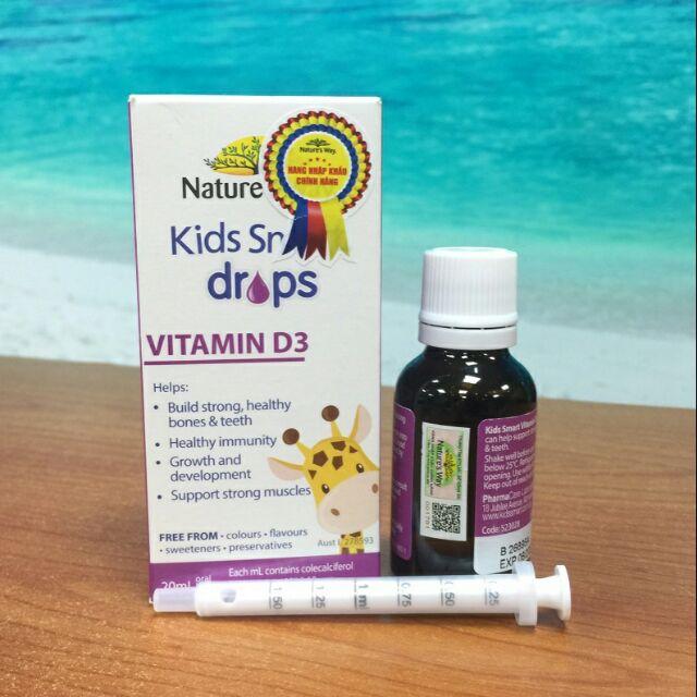 Nature's Way Kids Smart Infant Drops Vitamin D3