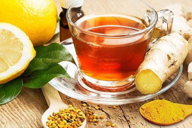 Nghệ và trà gừng