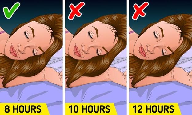 Ngủ nhiều hơn vào cuối tuần có thể giúp bạn bù đắp những giấc ngủ thiếu