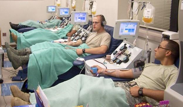 Những người có nhóm máu O là những người hiến tặng phổ biến