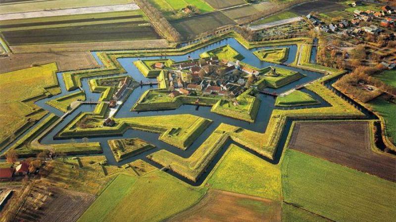 Pháo đài Bourtange - Hà Lan