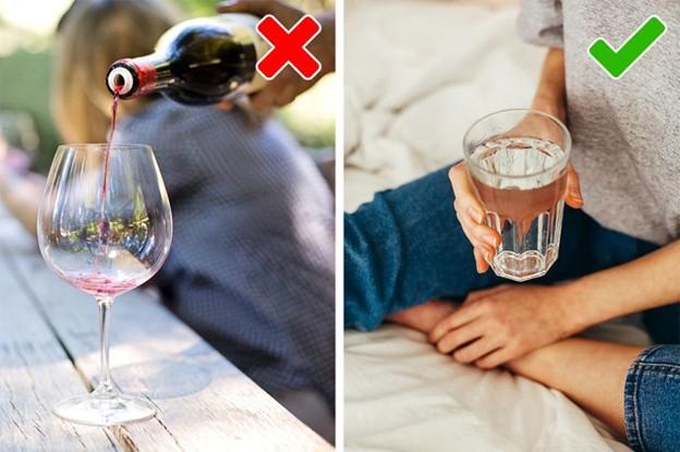 Rượu tích tụ độc tố