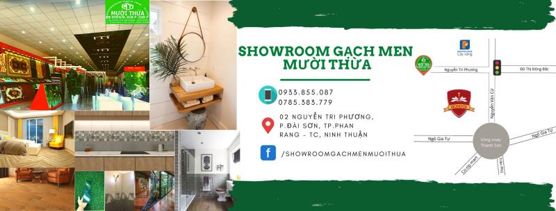 Showroom gạch men Mười Thừa