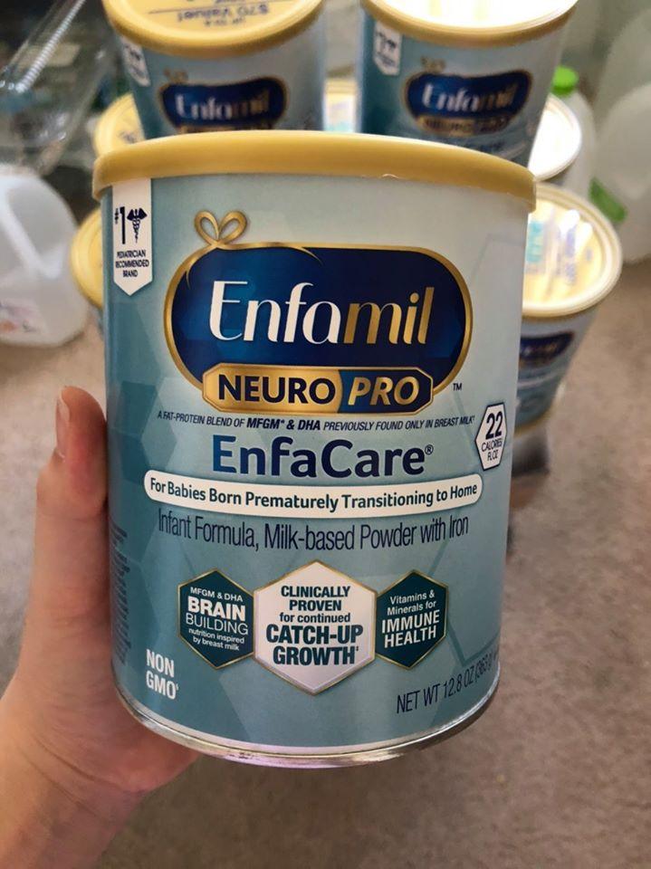 Sữa Enfamil Enfacare