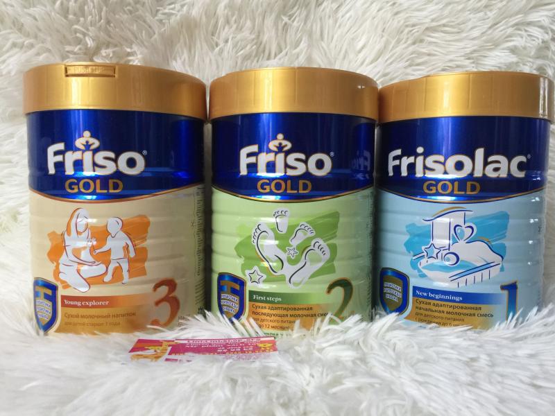 Sữa Frisolac của Nga