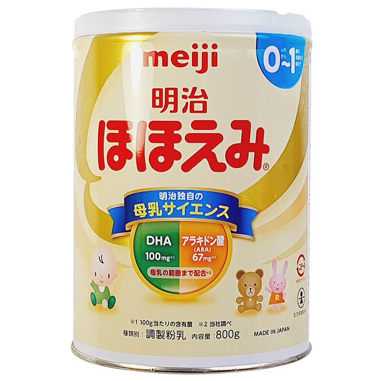 Sữa bột Meiji của Nhật